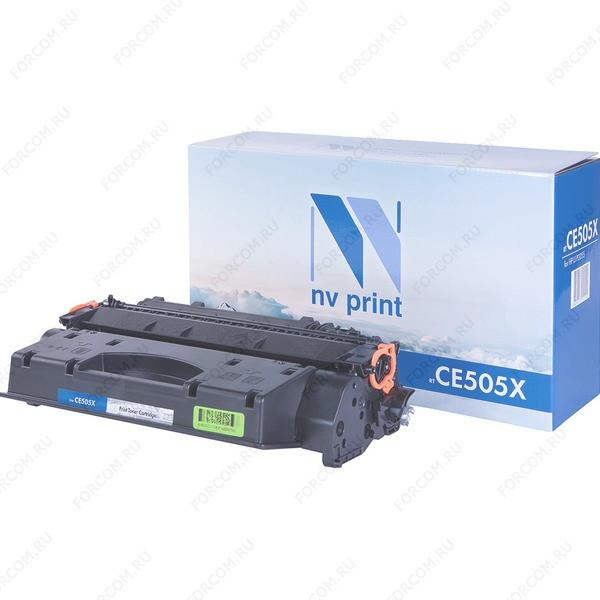 NV Print CE505X Совместимый Картридж чёрный (6,5K) для HP LaserJet P2055