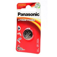 Элемент питания Panasonic Lithium Power CR-2032EL/1B CR2032 BL1