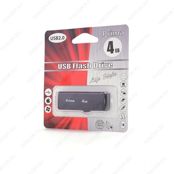 USB Flash Drive 4 Gb PRIMA PD-04 черная