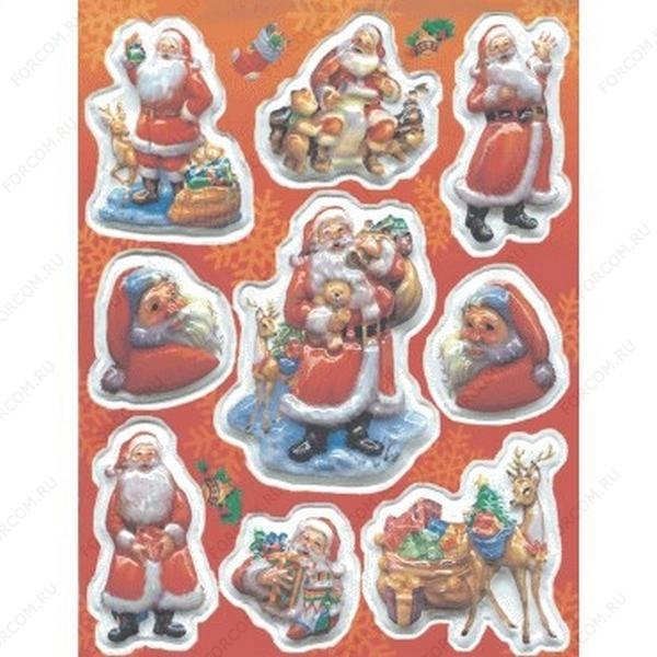 HERMA 6592 Magic Новый Год Дед Мороз с подарками