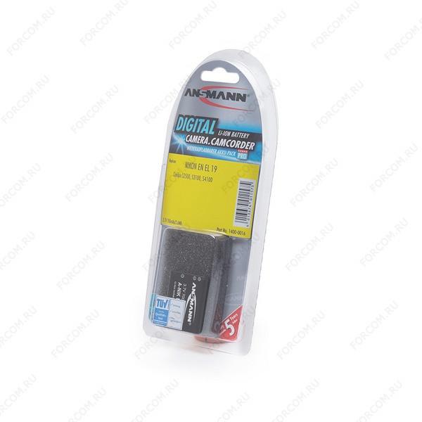 ANSMANN 1400-0016 A-Nik EN EL 19 BL1 Аккумулятор