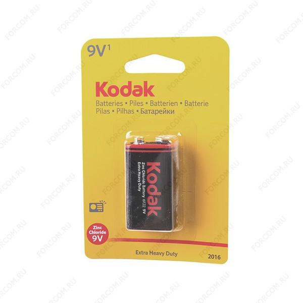 Kodak Extra Heavy Duty 6F22 BL1 Элемент питания