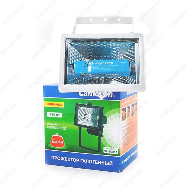 Camelion ST-1001A IP54, белый Прожектор