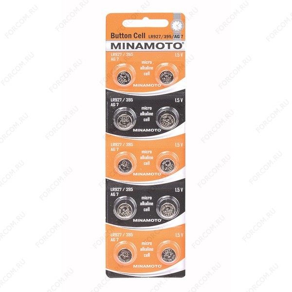 MINAMOTO Button Cell AG7 BL10 Элемент питания