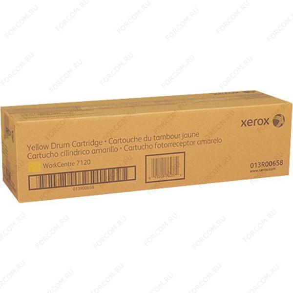 Xerox 013R00658 Барабан желтый (51K) XEROX WC 7120/7125/7220/7225