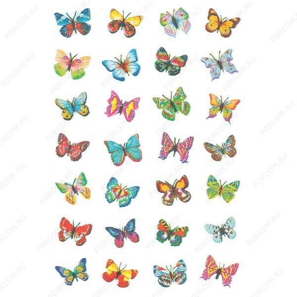 HERMA 6819 Magic Наклейки Мелкие бабочки