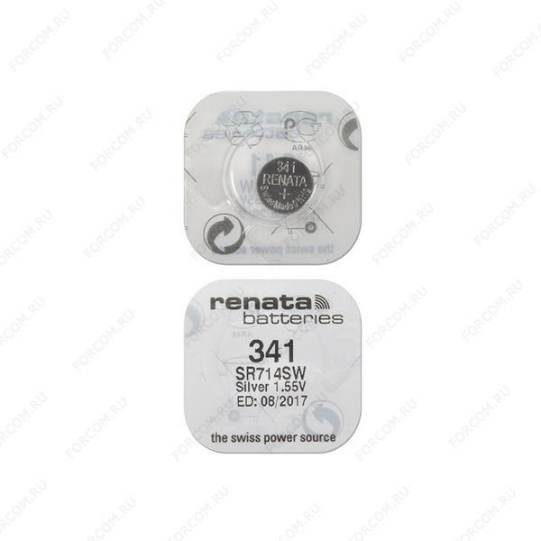 RENATA SR714SW 341, в упак 10 шт Элемент питания