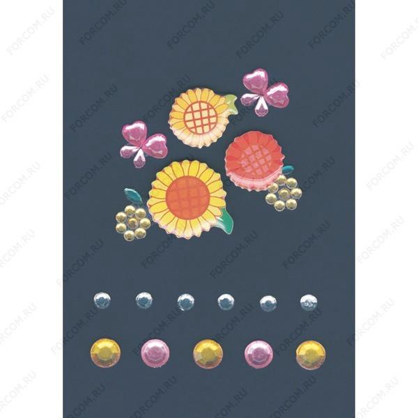 HERMA 6009 MAGIC Гламур Разноцветные цветы