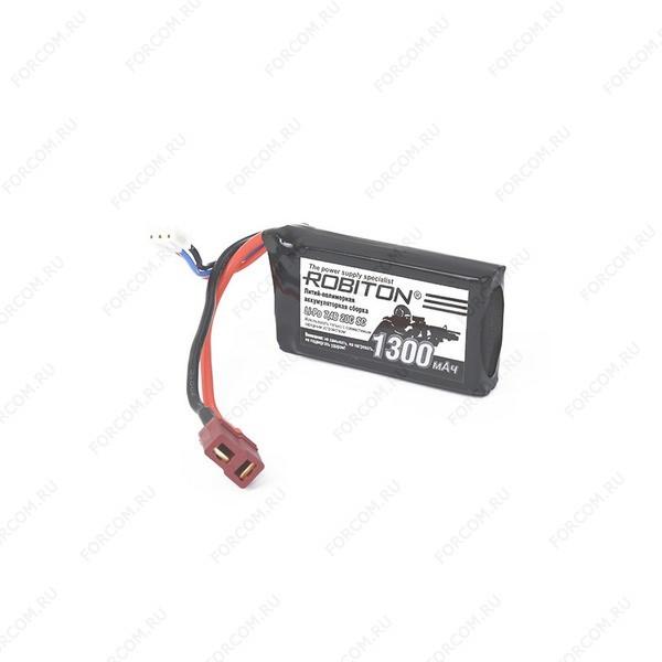 ROBITON LP-STB2-1300 Lipo 7.4В 1300мАч, в упак 50 шт Аккумуляторная сборка