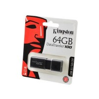 KINGSTON USB 3.1/3.0/2.0  64GB  DataTraveler 100 G3 черный BL1 Носитель информации