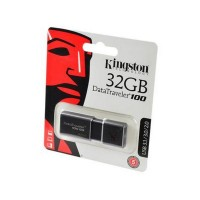 KINGSTON USB 3.1/3.0/2.0  32GB  DataTraveler 100 G3 черный BL1 Носитель информации