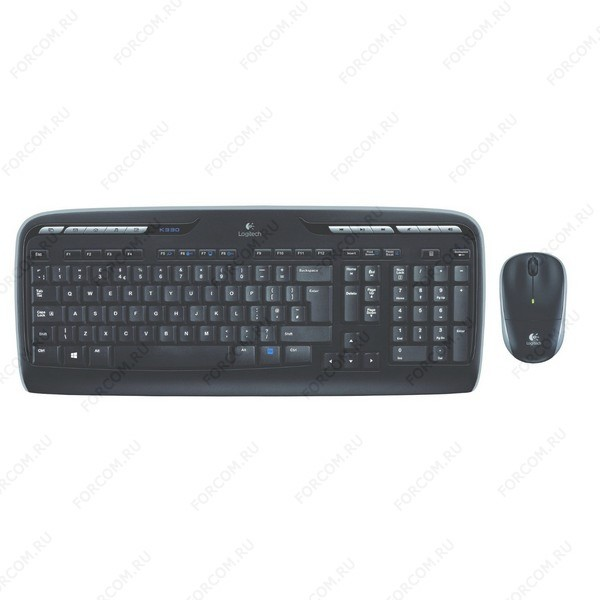 Logitech Wireless Combo MK330 Black USB (920-003995) Беспроводный комплект Клавиатура + Мышь