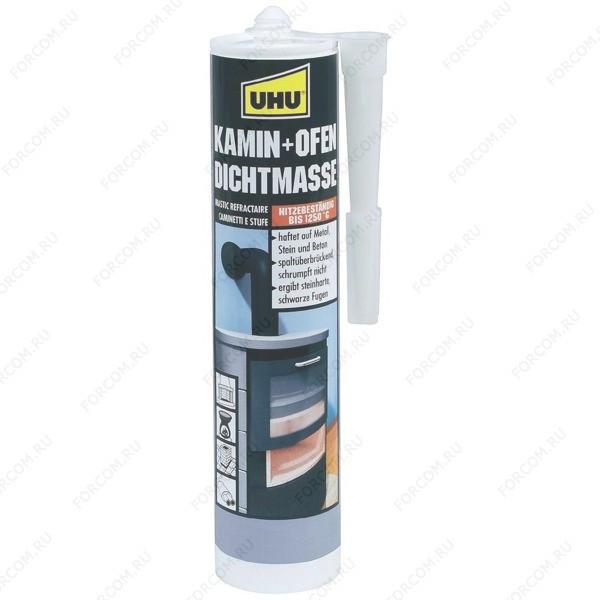 UHU 46895 Kamin & Ofen Клей UHU для Каминов и печей 530 гр.