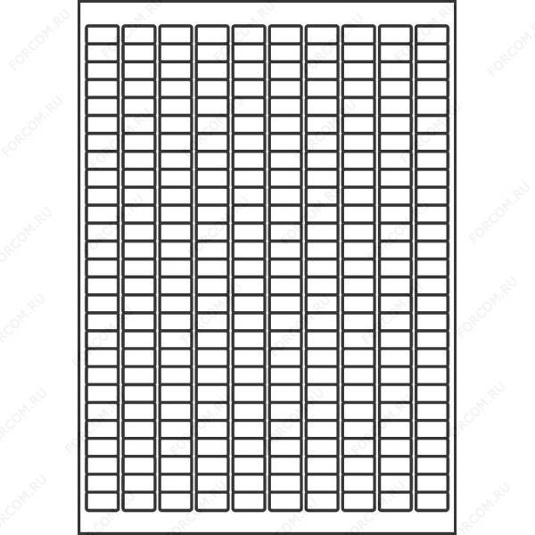 HERMA 4343 (круглые углы) Этикетки бумажные A4 размер 17.8 x 10.0 цвет Белый для печати на струйном или лазерном принтере, копире
