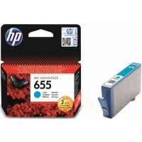HP CZ110AE Картридж №655 голубой HP DeskJet Ink Advantage 3525, 4615, 4625, 5525, 6525 e-All-in-One