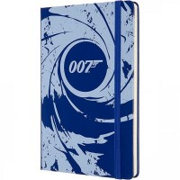 Блокнот Moleskine Limited Edition James Bond 130 x 210 мм, 192 стр., линейка, синий (Moleskine LEJB02QP060B)
