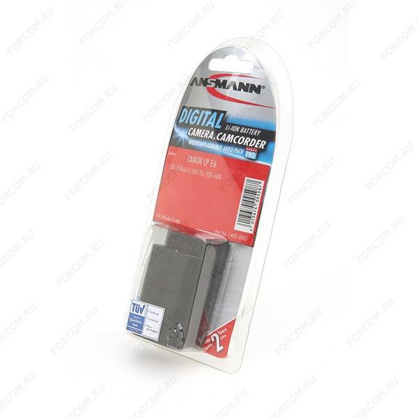 ANSMANN 1400-0000 A-Can LP E6 BL1 Аккумулятор