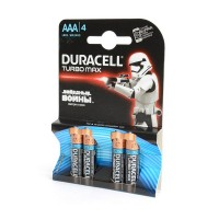 DURACELL TURBO MAX LR03 BL4 Элемент питания