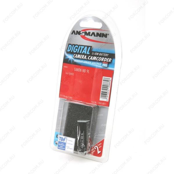 ANSMANN 1400-0011 A-Can NB 9L BL1 Аккумулятор