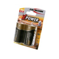 ANSMANN X-POWER 5015633 LR20 BL2 Элемент питания