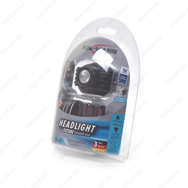 ANSMANN 1600-0044 Headlight FUTURE LED 3AAA BL1 Фонарь
