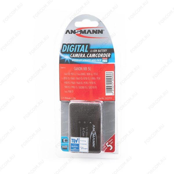 ANSMANN 5022953 A-Can NB 5 L BL1 Аккумулятор