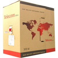 Кабель витая пара Telecom Ultra Base UTP, Cat. 5E, 2-е пары, бухта: 305м TUS42048E