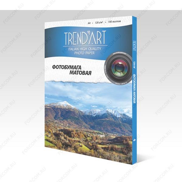 TrendArt MC120_A4_100 Фотобумага TrendArt Matte Coated Inkjet А4, 120г, 100 листов