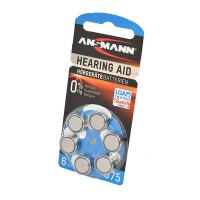 ANSMANN Zinc-Air 5013253 675 UK BL6 Элемент питания