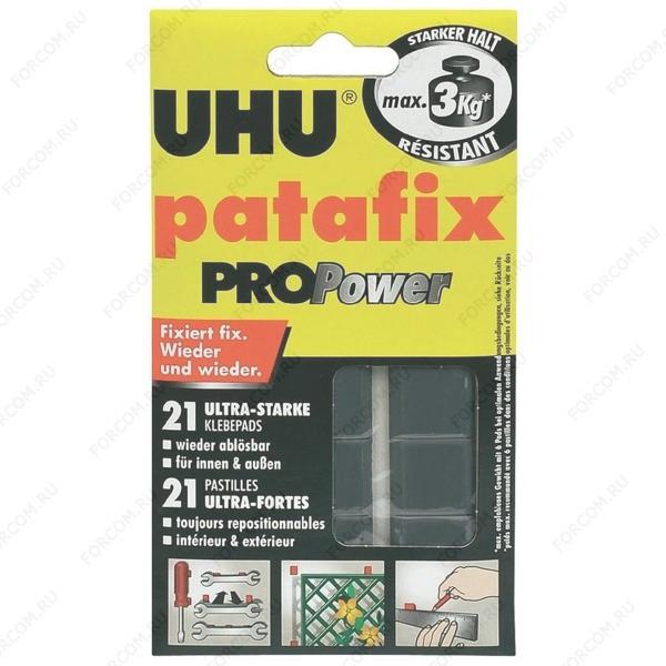 UHU 40790 Patafix PROPower Сверхпрочные клеящие подушечки для временного крепления