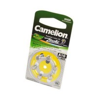 Camelion Zinc-Air A10-BP6(0% Hg) BL6 Элемент питания
