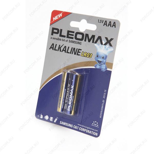 PLEOMAX LR03 BL2 Элемент питания