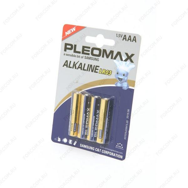 PLEOMAX LR03 BL4 Элемент питания