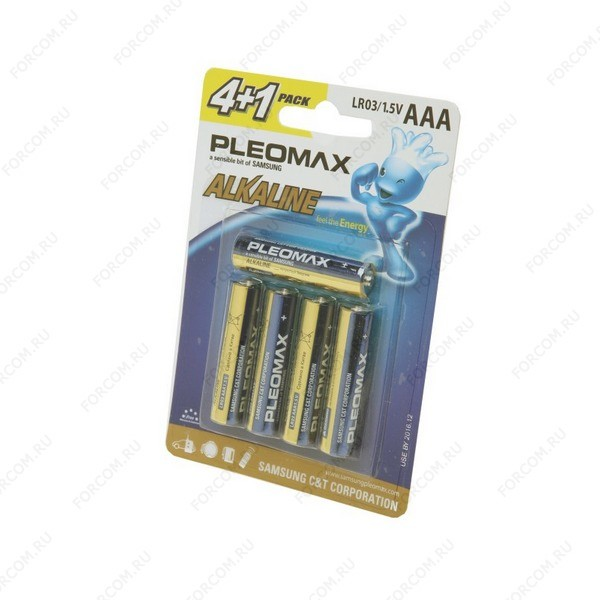 PLEOMAX LR03-4+1 BL5 Элемент питания