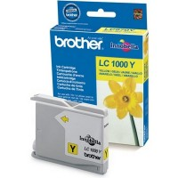 Brother LC1000Y Картридж Brother LC-1000Y для DCP130C/330C/350С/540CN/MFC240C/465C/885CW/5460CN жёлтый (400стр)
