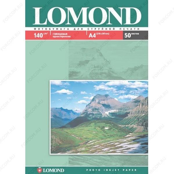 Lomond 0102013/0102066 Односторонняя Глянцевая фотобумага для струйной печати, A3, 140 г/м2, 50 листов
