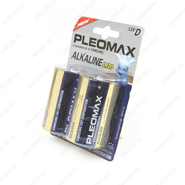 PLEOMAX LR20 BL2 Элемент питания