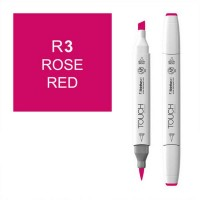 Маркер спиртовой ShinHanart Touch Twin Brush R3 Rose Red (1210003)