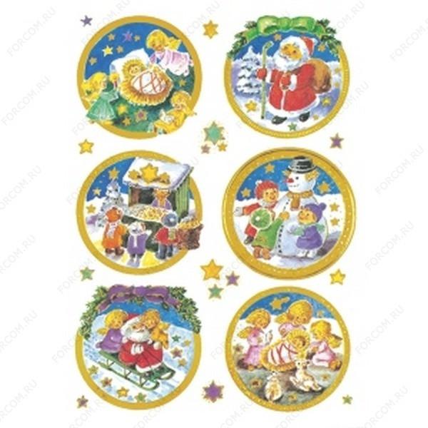 HERMA 3969 Decor Наклейки Новый Год Ангелочки
