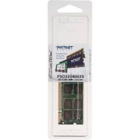 SO-DIMM DDR2 800 PC6400 2 Gb Patriot PSD22G8002S