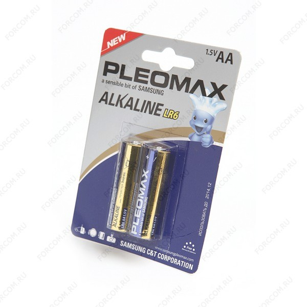 PLEOMAX LR6 BL2 Элемент питания