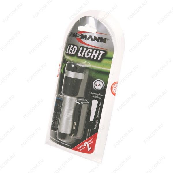 ANSMANN 5816593 X1-LED-1AA BL1 Фонарь