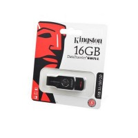 KINGSTON USB 3.1/3.0/2.0  16GB  DataTraveler  SWIVL металл с черным BL1 Носитель информации