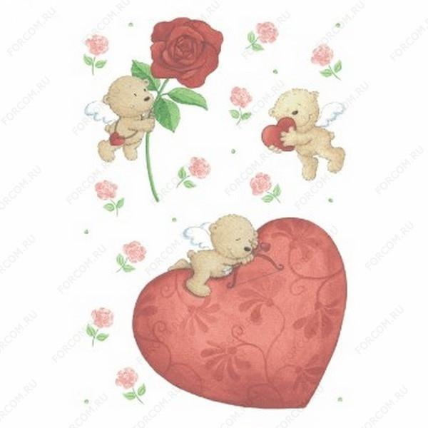 HERMA 4778 Amor Наклейки Большое сердце