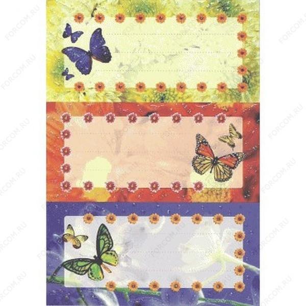 HERMA 4969 Vario Наклейки Для тетрадей Бабочки