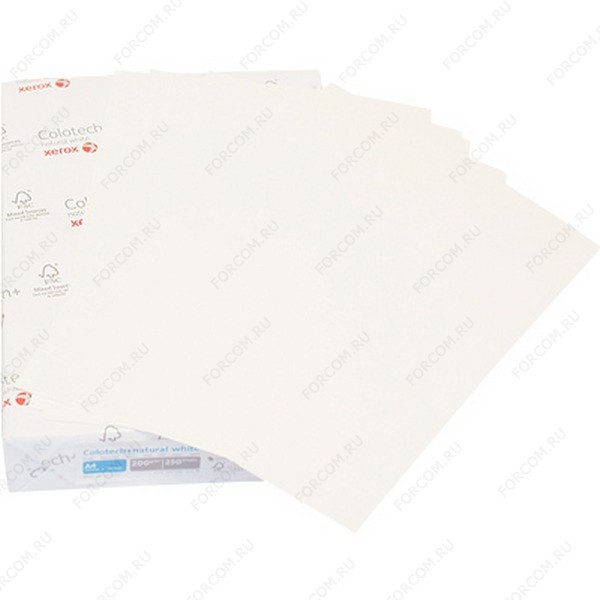 Xerox 003R95957 Бумага XEROX Colotech Plus Natural White, 160г, A3, 250 листов (в кор. 5 пач.)