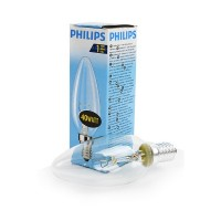 PHILIPS B35 40W E14 CL 011633 Лампа