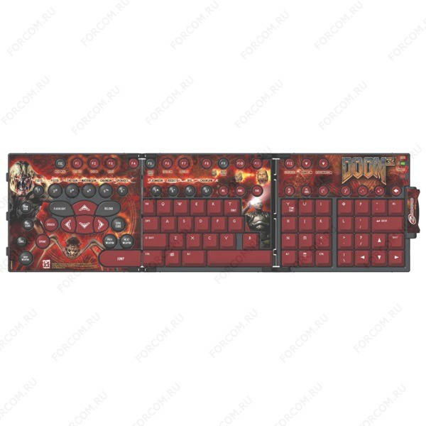 Zboard Keyset: DOOM3 Сменная раскладка для клавиатуры