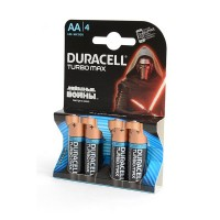DURACELL TURBO MAX LR6 BL4 Элемент питания