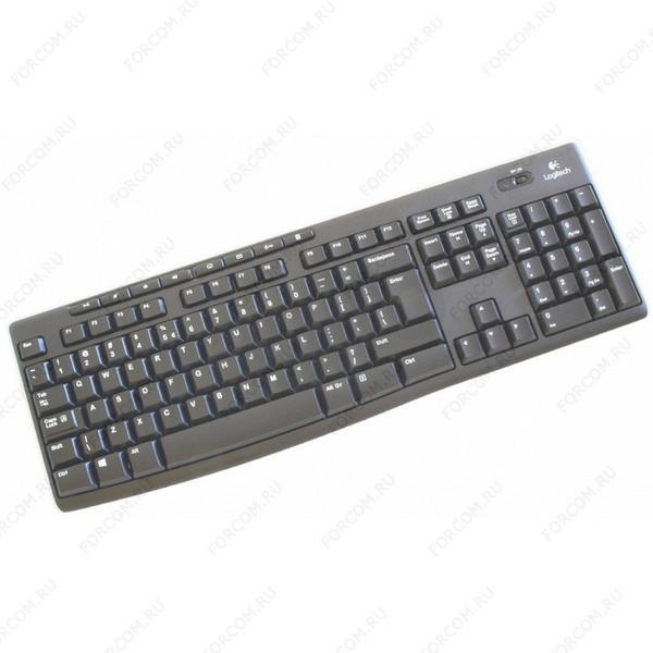 Logitech K270 Wireless, черная (920-003757) Клавиатура Беспроводная